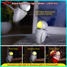 Robot Baby Night Light 2016 led memento gifts