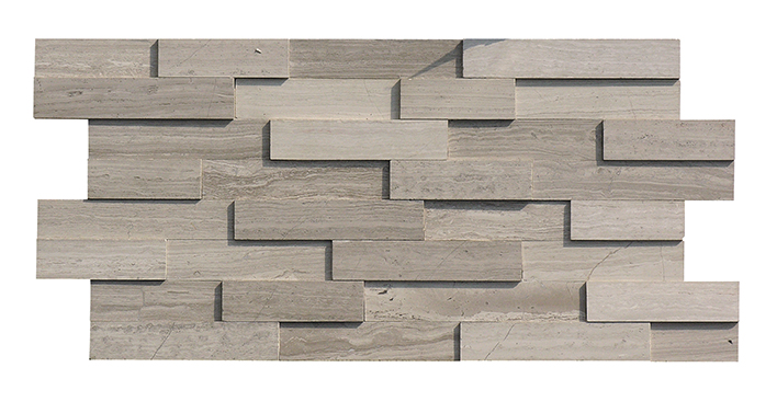Chinese wooden grey marble waterfall cheap stone veneer with best quality and low price