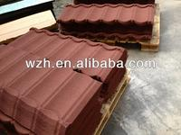 stone coated metal steel roofing tile