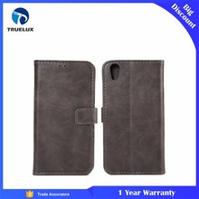 Good Quality Flip Wallet Leather Case Cover for BlackBerry DTEK50 Case With Stand Function