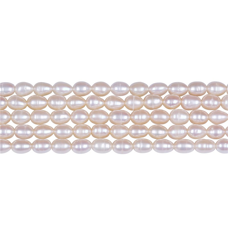 4-5mm Pink loose pearl freshwater strand pearl beads