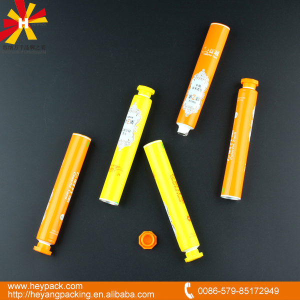20ml Aluminum plastic laminated tube with eight angle cap for tooth care