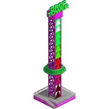 [Ali Brothers]twist tower amusement rides for sale