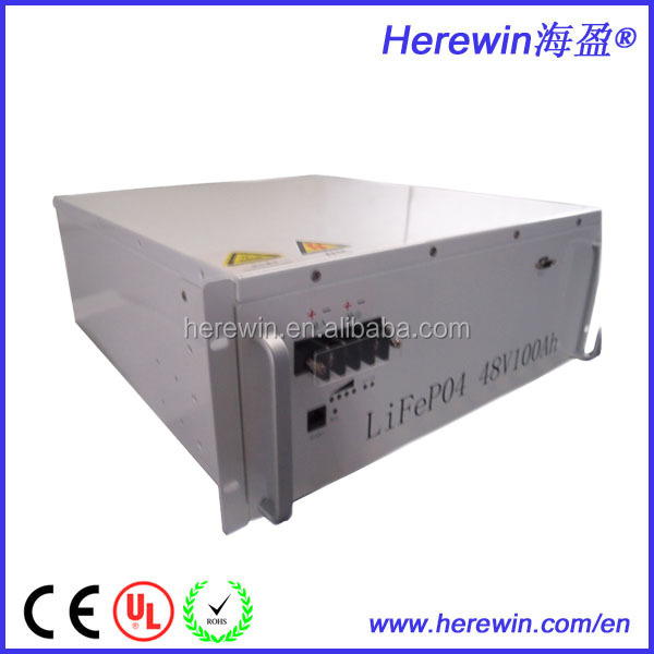 Customized 100ah LIFEPO4 consumer 48V best battery for solar power