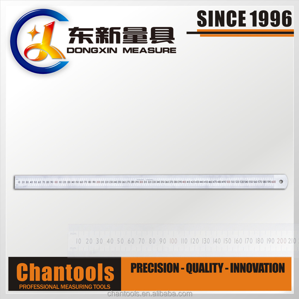 [CHANT] Stainless Steel Precision Machinist 24-Inch Metal Ruler