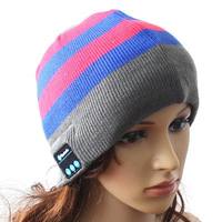New Wireless Bluetooth Hat Hands free Headphone Winter Warm Beanies Music Hat Men Women Knitted Cap Wholesale