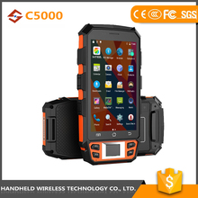 Best quality best quality handheld C5000 rugged ip65 android 5.1 4g data terminal pda