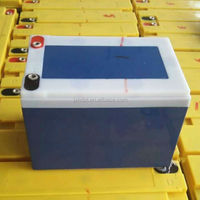 popular 6 fm 12 battery 6 dm 10 12 volt 10 amp lead acid batteries made in China for electric motorcycle