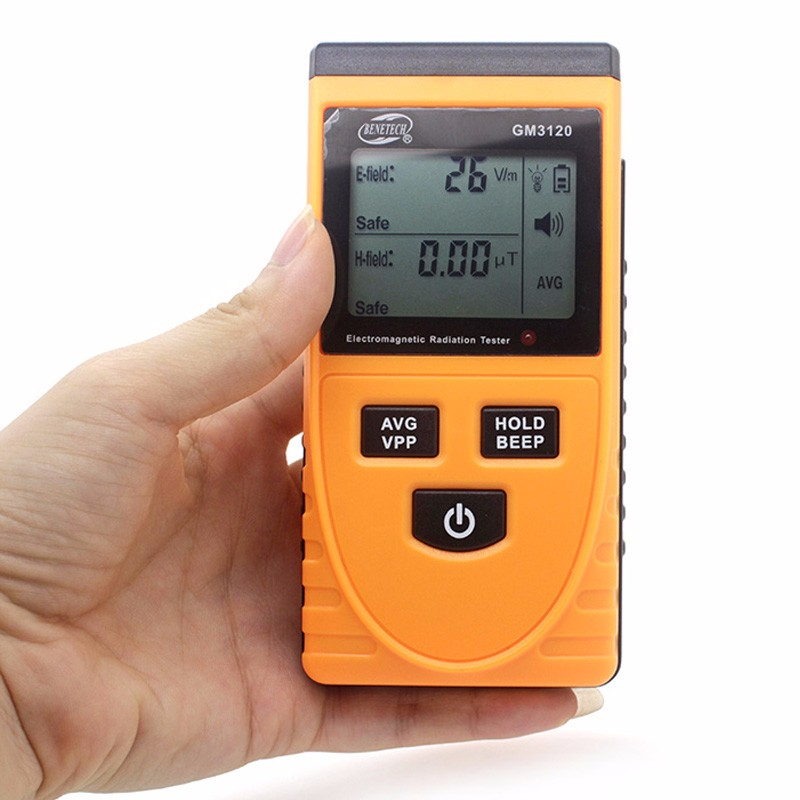 Digital Electromagnetic radiation detector GM3120 for household electromagnetic radiation tester equipment radiation measuring