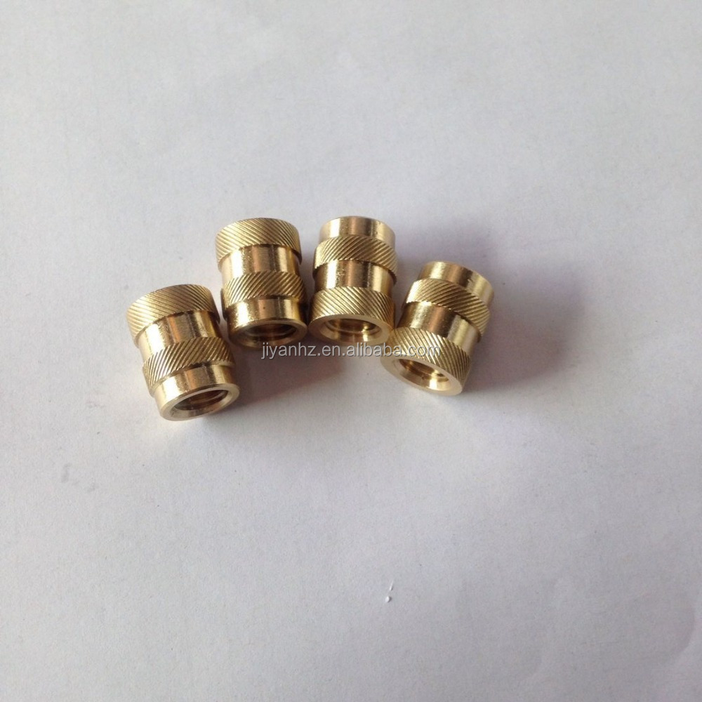 Brass Steel cnc inserts for plastic injection mold