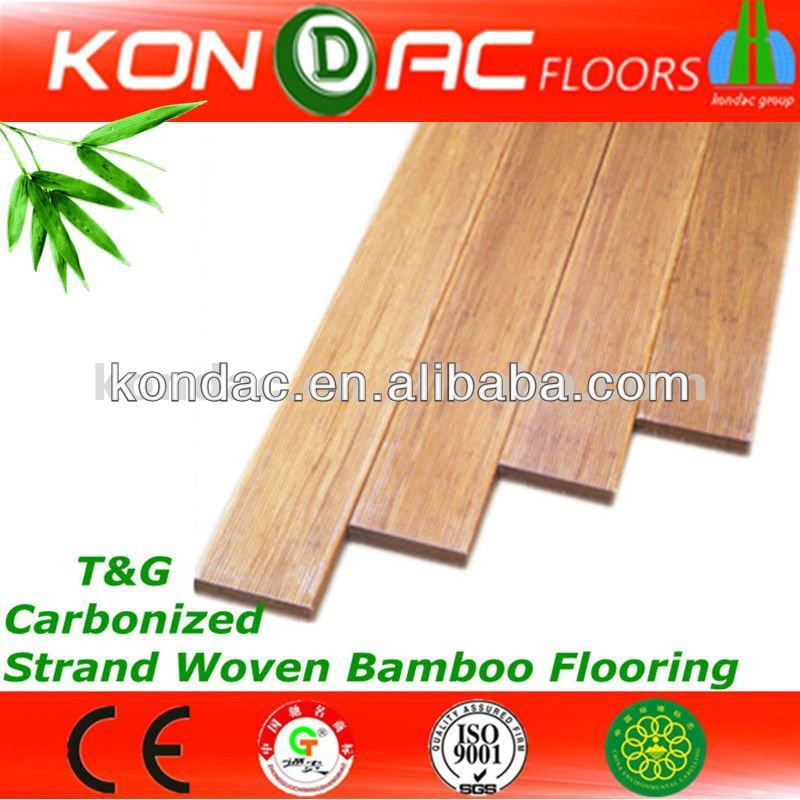 Strand Woven Carbonized Bamboo Flooring,CE,ISO Bambus