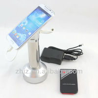 2016 new developed magnetic mobile phone holder with alarm remote control for ring display shop security retail