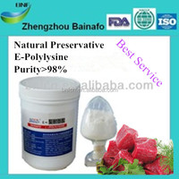 Preservatives Type natural food additive polylysine for meat and sausage