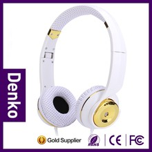DENKO stereo plug n65 bluetooth headset for music lover