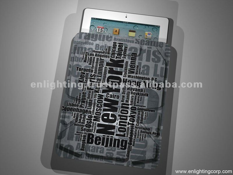 iBag_NY_Multifunctional Designer Case For iPad and Tablet PC