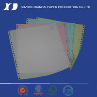 2016 top quality designer computer printing paper for purchase order form