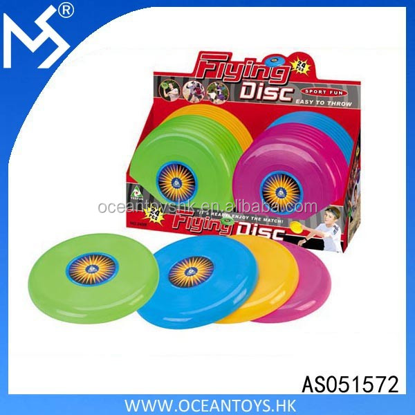 Wholesale plastic frisbee promotional flying disc