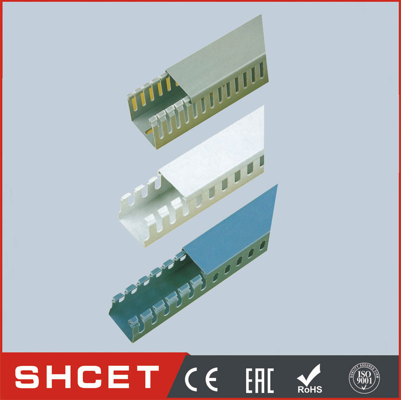 PXC PVC Slotted Conduit Trunking Wire Metal Wire Duct