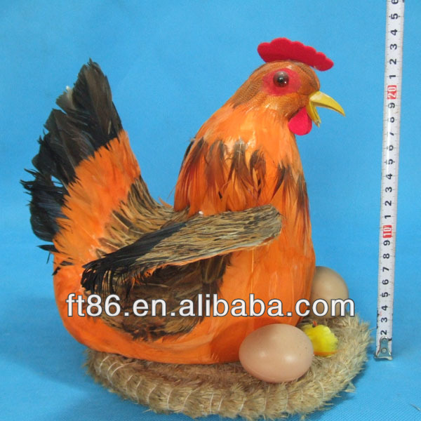 lovely plastic small cute realistic new fashion plastic toy chicken lays eggs