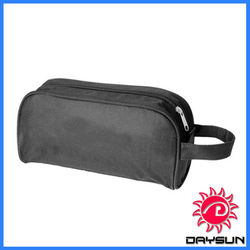 2013 Black men travel toiletry bag with handle