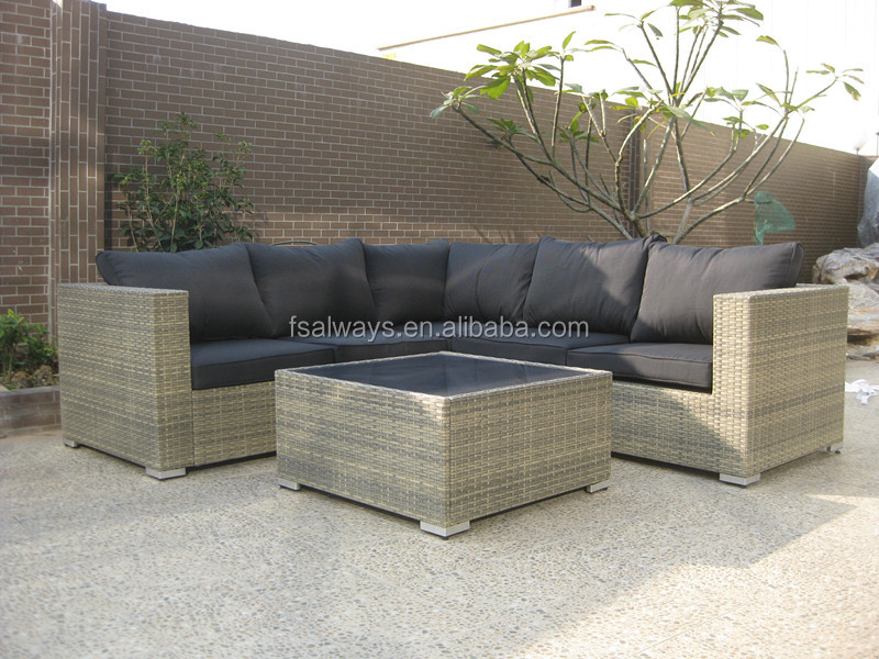 New Style Leisure Garden Outdoor Poly Rattan Furniture