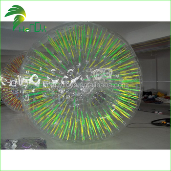 Inflatable zorb ball , rolling ball , inflatable body zorb ball roll inside