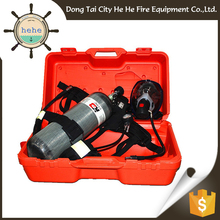 SCBA With CE/CCS Approval Firefighting Full Face Respirator