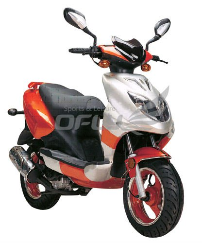 EPA Certificated Gas Motor Scooter Equipped with 50cc Engine WZMS0506 EPA