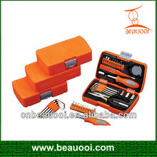 25pc small plastic tool boxes