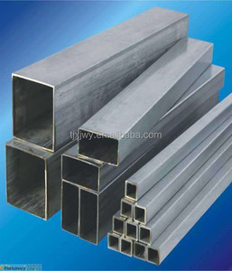 Good price china q195 mild steel rectangular pipes, Hot Dipped Galvanized Square Tube / Rectangular Hollow Section