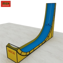 Shopping Mall Indoor Playground Equipment Steep Slide for Kids