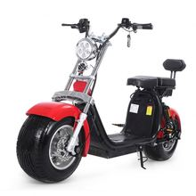 Carbon Fier Foldable 2 Wheel Electric Scooter 2017 3 Wheel Fat Tire City Coco Motor 800W Citycoco One Wheel Electric Scooter