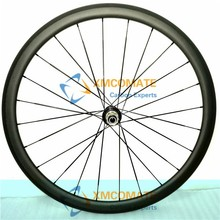 Ultra-light Chinese Cheap wheel 50mm Clincher Wheelset Carbon Road Bicycle Wheel Bike Parts 23mm Width Powerway R13 Hub/XMCOMATE