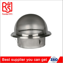HVAC Hot Round Roof Stainless Steel Cowl Air Conditioning Waterproof Air Grill Air Vent Cap Pipe Cover