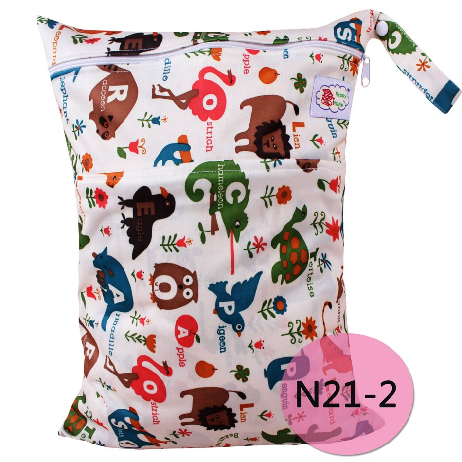 Happy flute hot sale baby diaper wet bag handle bag