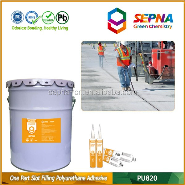 Construction Sealant Factory CR 125 SL Sealant /Airport Runway Joint Sealant / Sikasil SL Self Leveling Sealant