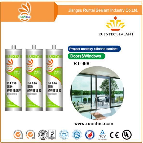 Wholesale silicone sealant for stainless steel, adhesive for stainless steel to stainless steel