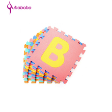 Colorful eva foam alphabet puzzle mat for kids manufacturer in Hangzhou