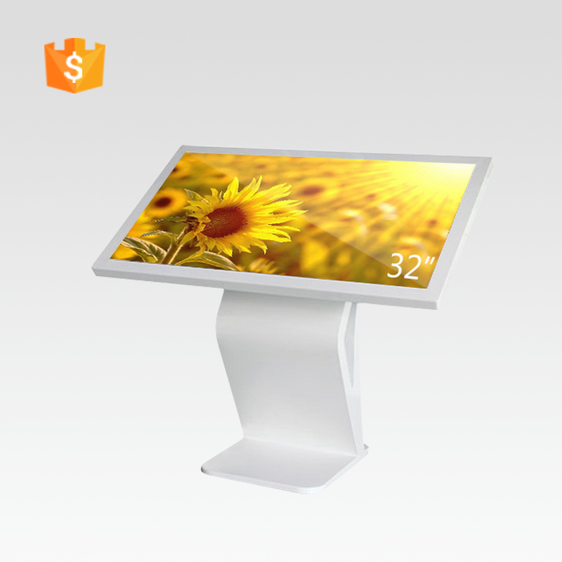42 inch floor stand samsung lcd panel vertical touch screen monitor /touch screen advertising kiosk with touch screen