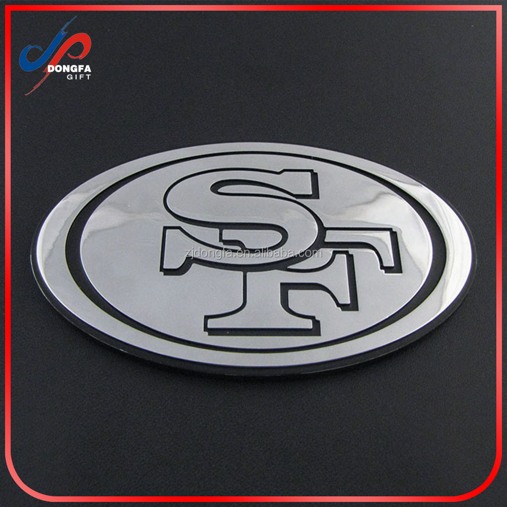 Customized cheap metal car chrome emblem