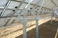 Hot Dip Galvanizing Solar Mounting Structures