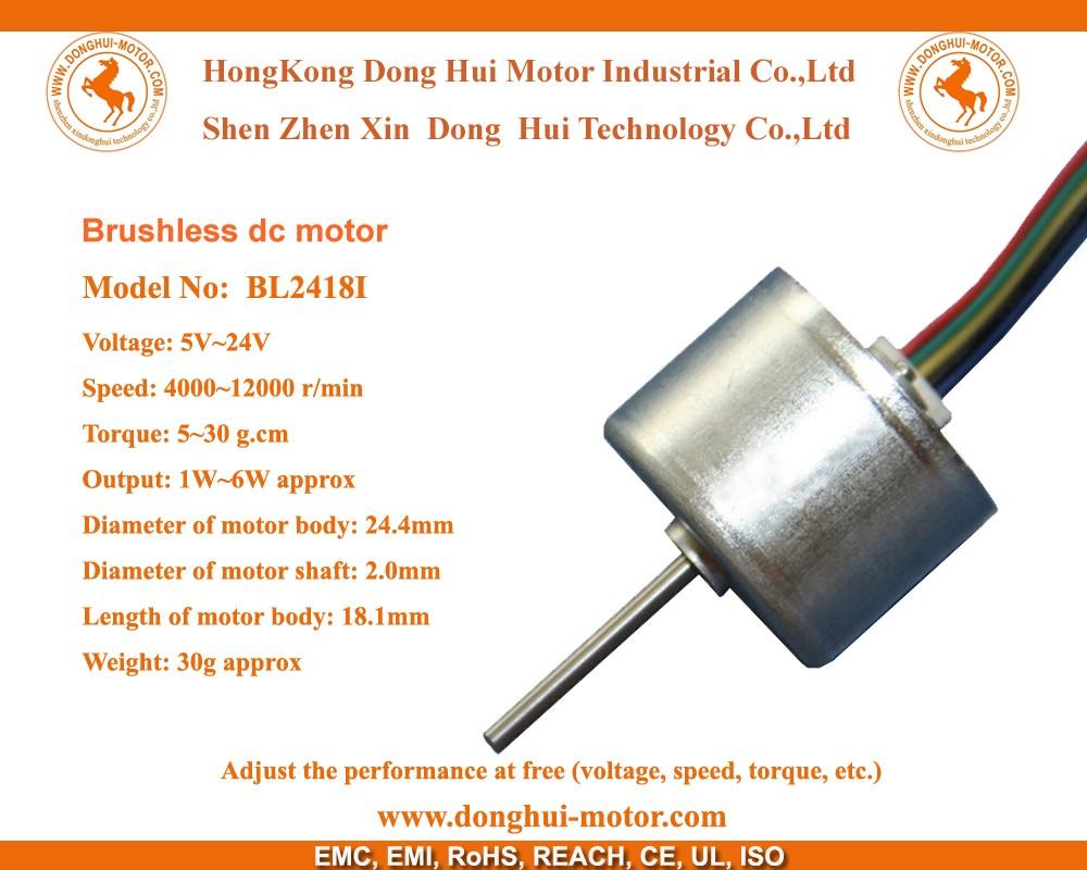 24mm micro 24 volt brushless dc motor 24v bldc motor buy for Brushless dc motor buy