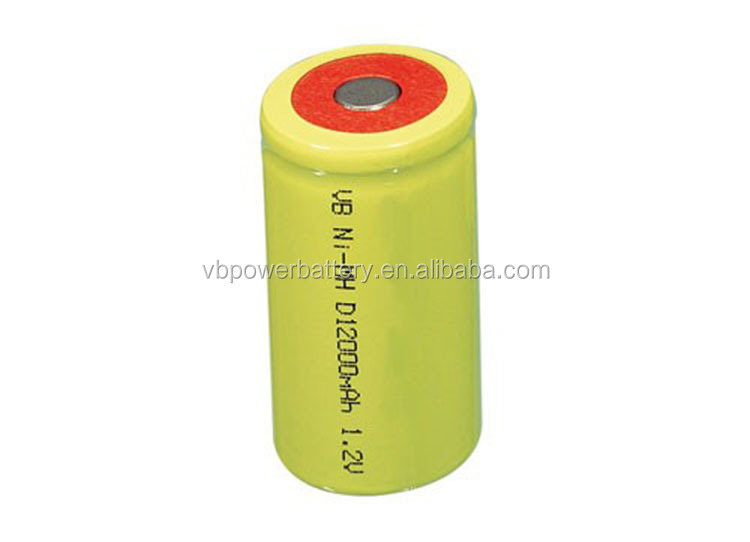 Nimh rechargeable High Drain battery AA SC 1.2V 1200mah Nickel metal hydride rechargeable battery