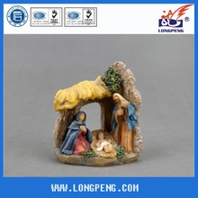 Resin Catholic Holy Family Christmas Nativity Figure,Holy Family Nativity Scene Creche Figurine
