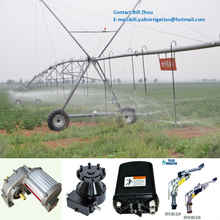 Agricultural Irrigation System of Center Pivot Using Rain Gun Irrigation Sprinkler and Water Pressure Booster Pump
