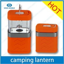 Colorful led retractable camp lantern battery operated mini stand portable led work light