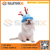 Dog Pet Birthday Cake Candle Velvet Hat And Cap