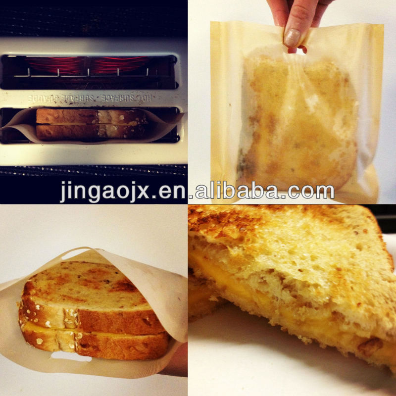 Nonstick Pfoa free PTFE bread toaster bag bread toaster BAG