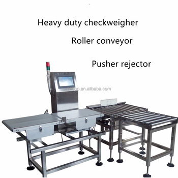 Intelligent in-motion checkweigher