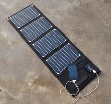 solar battery charger kit 20W High efficiency: >24I% Solar Panel USB Charger For smart phone , PDA, Tablet, PSP ,DV,Camera